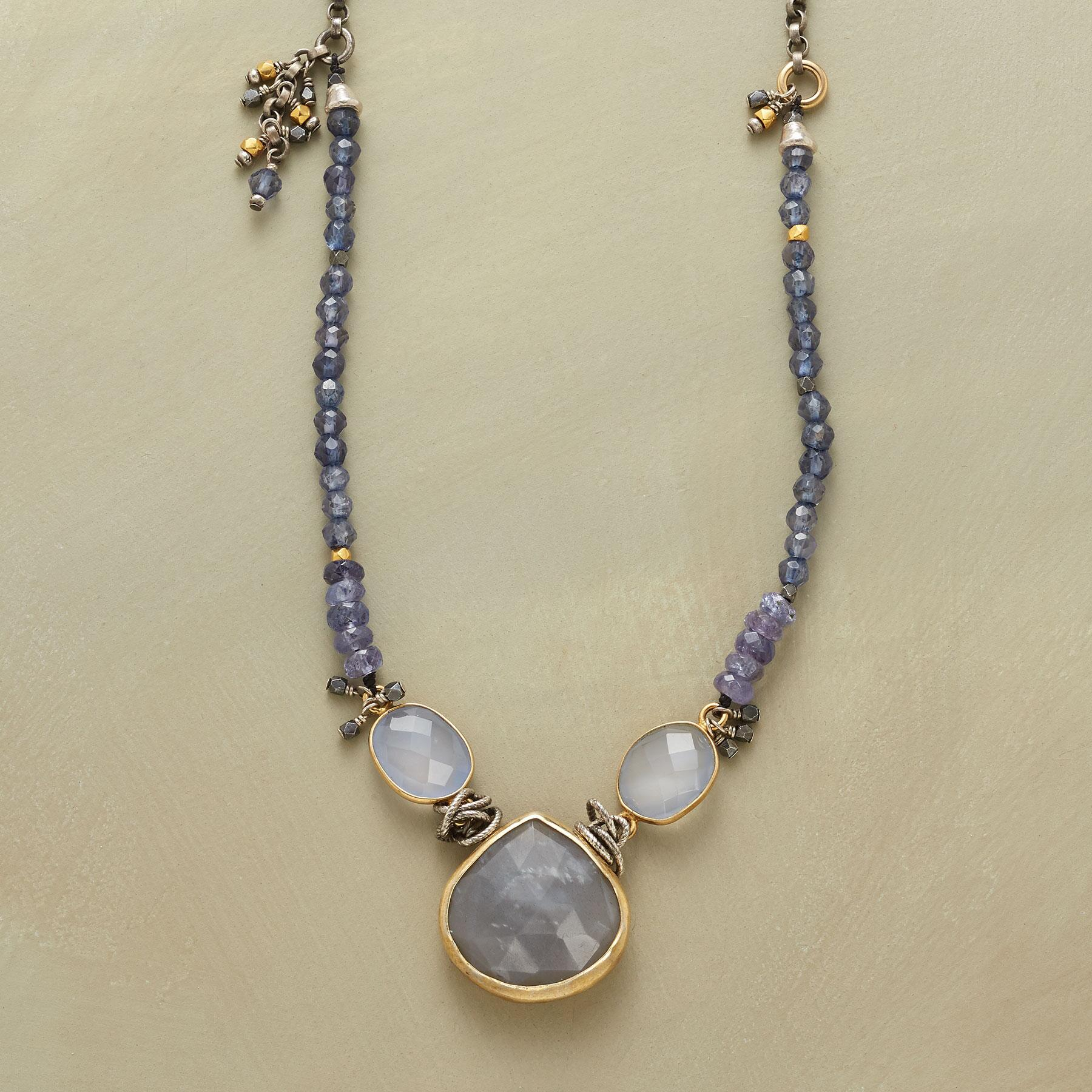 BLUE MOONLIGHT NECKLACE: View 1