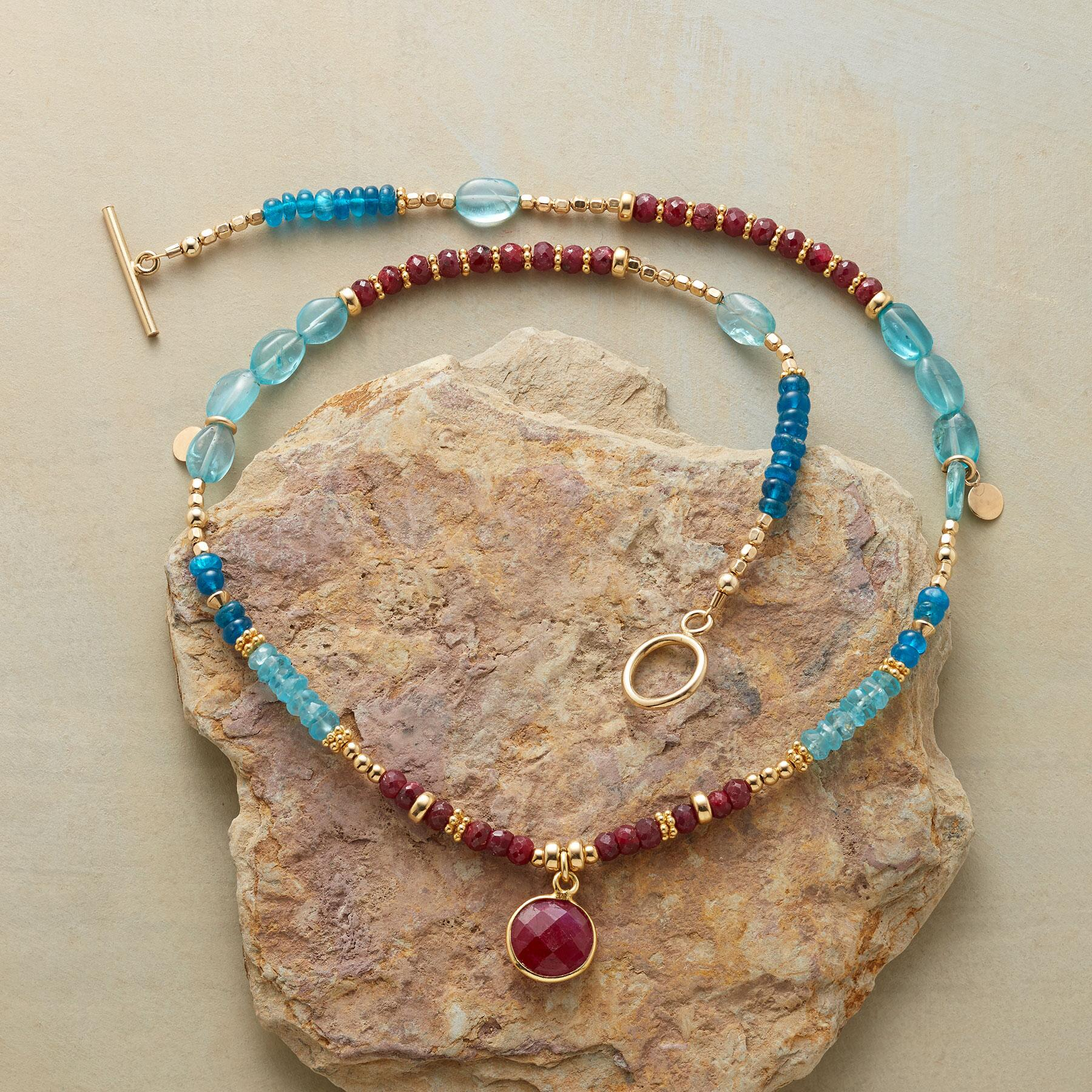 RUBY BLUES NECKLACE: View 2