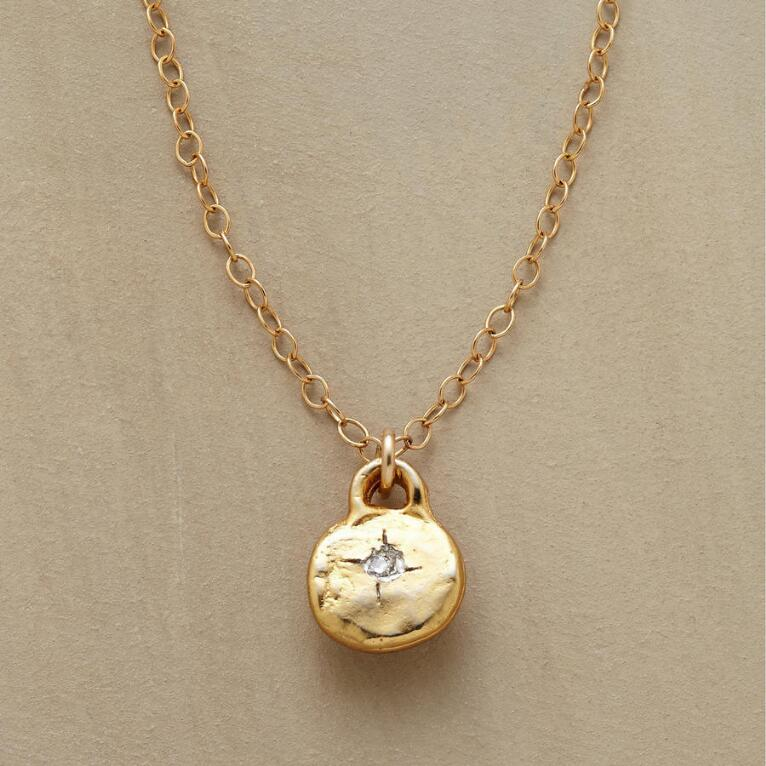 GOLD-FILLED LITTLE BIT NECKLACE