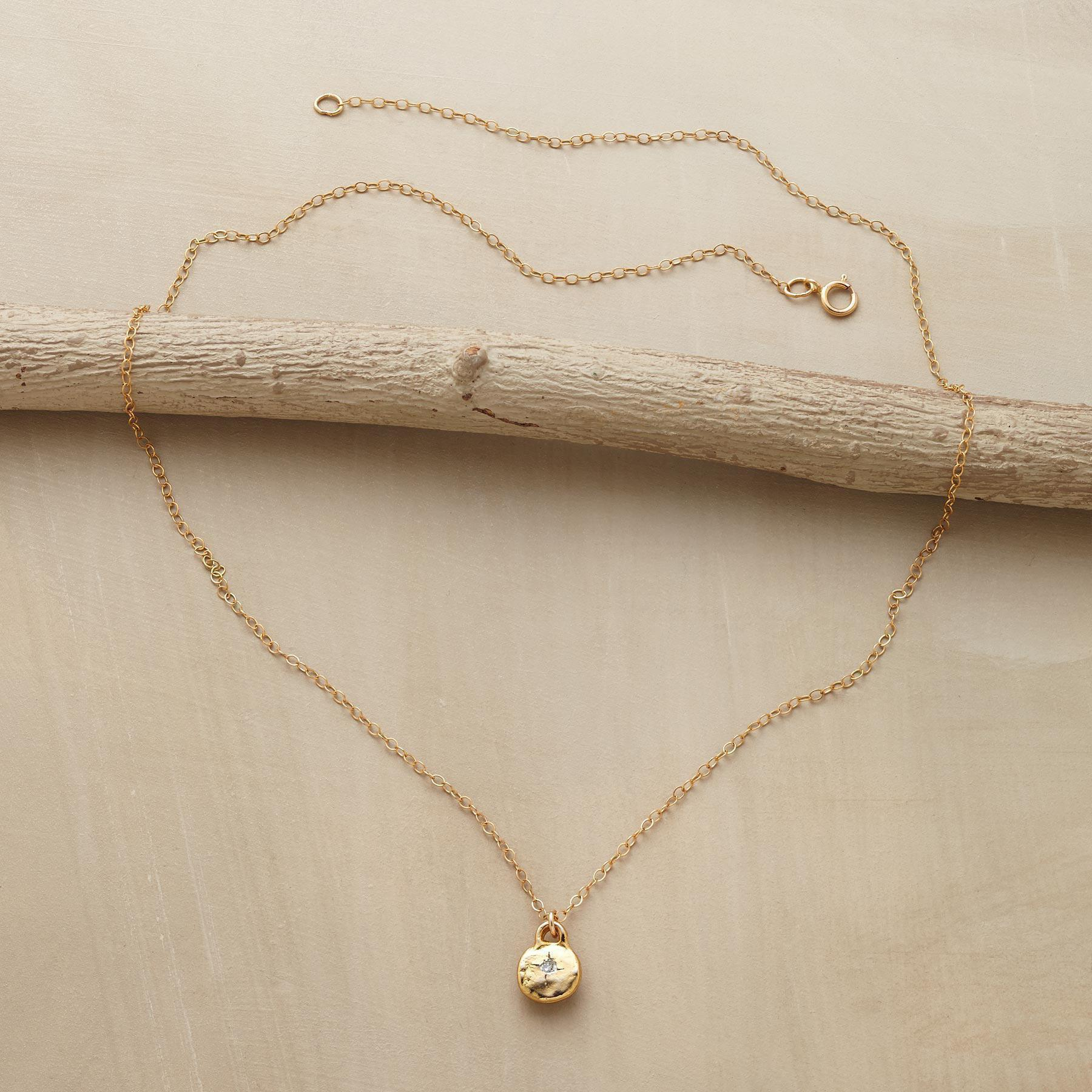 GOLD LITTLE BIT NECKLACE: View 2