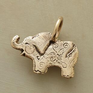 14KT GOLD ELEPHANT CHARM