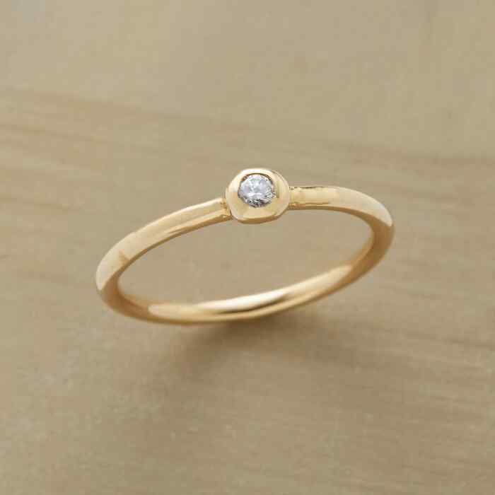 DIAMOND IN THE GOLD RING