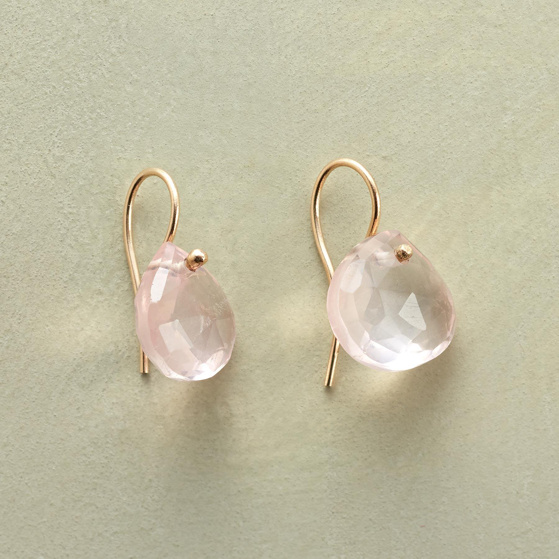 PINK PURITY EARRINGS: View 1