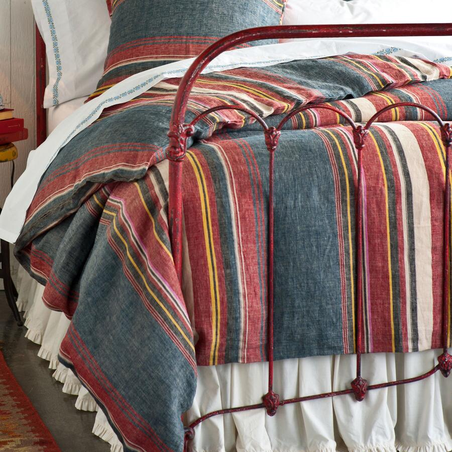 SAN ANTONIO STRIPED DUVET COVER