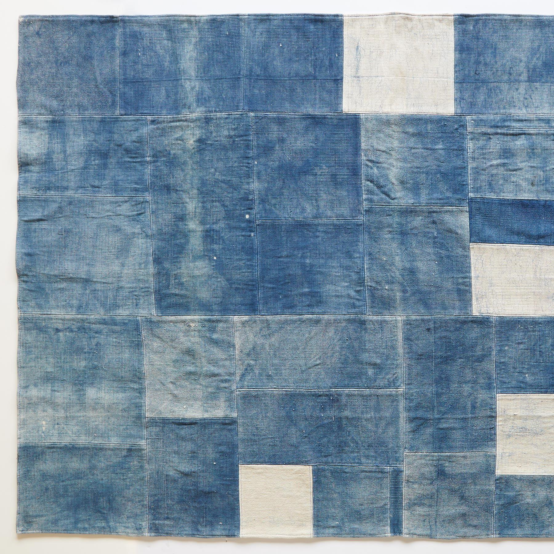 BLUE ON BLUE RUG: View 1