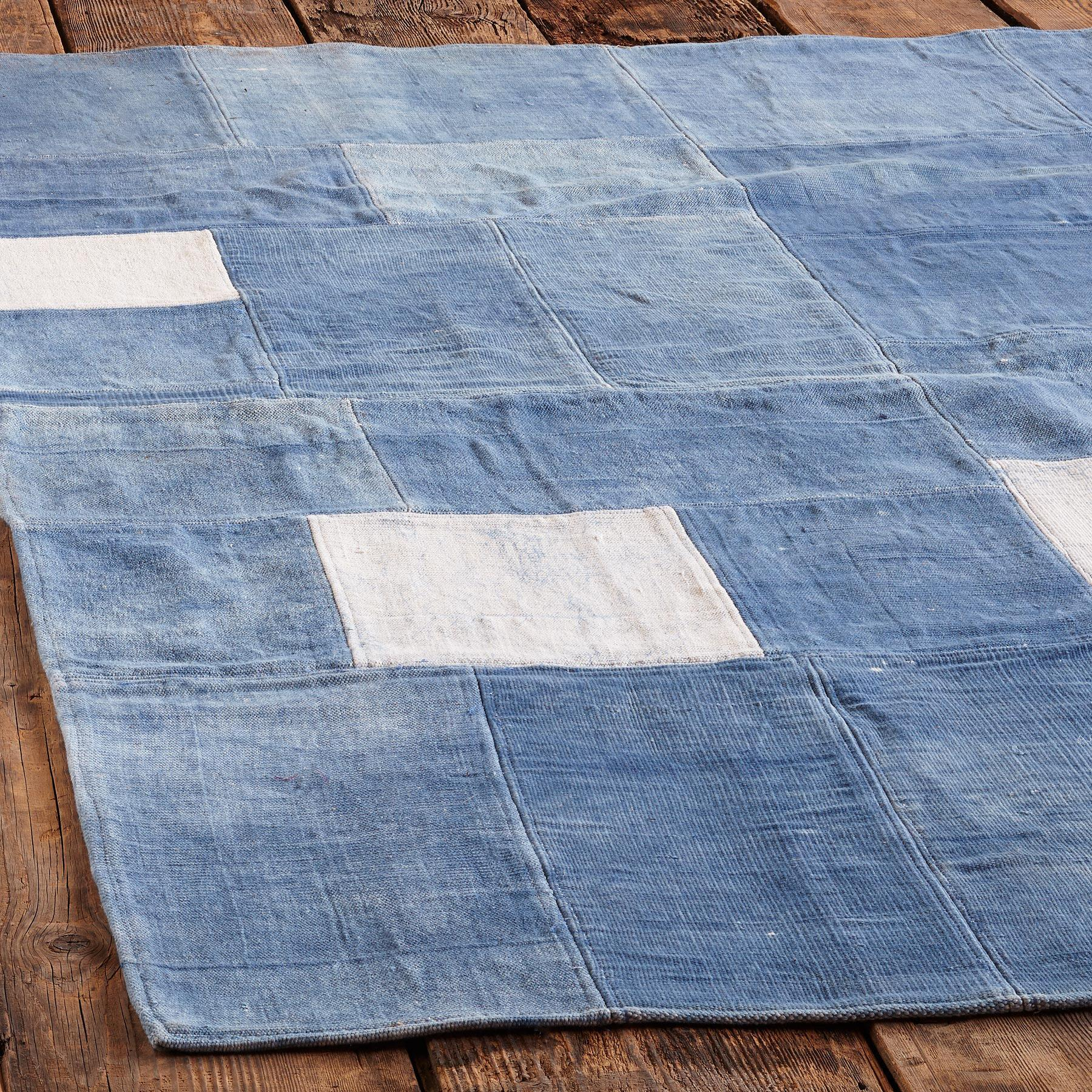 BLUE ON BLUE RUG: View 2