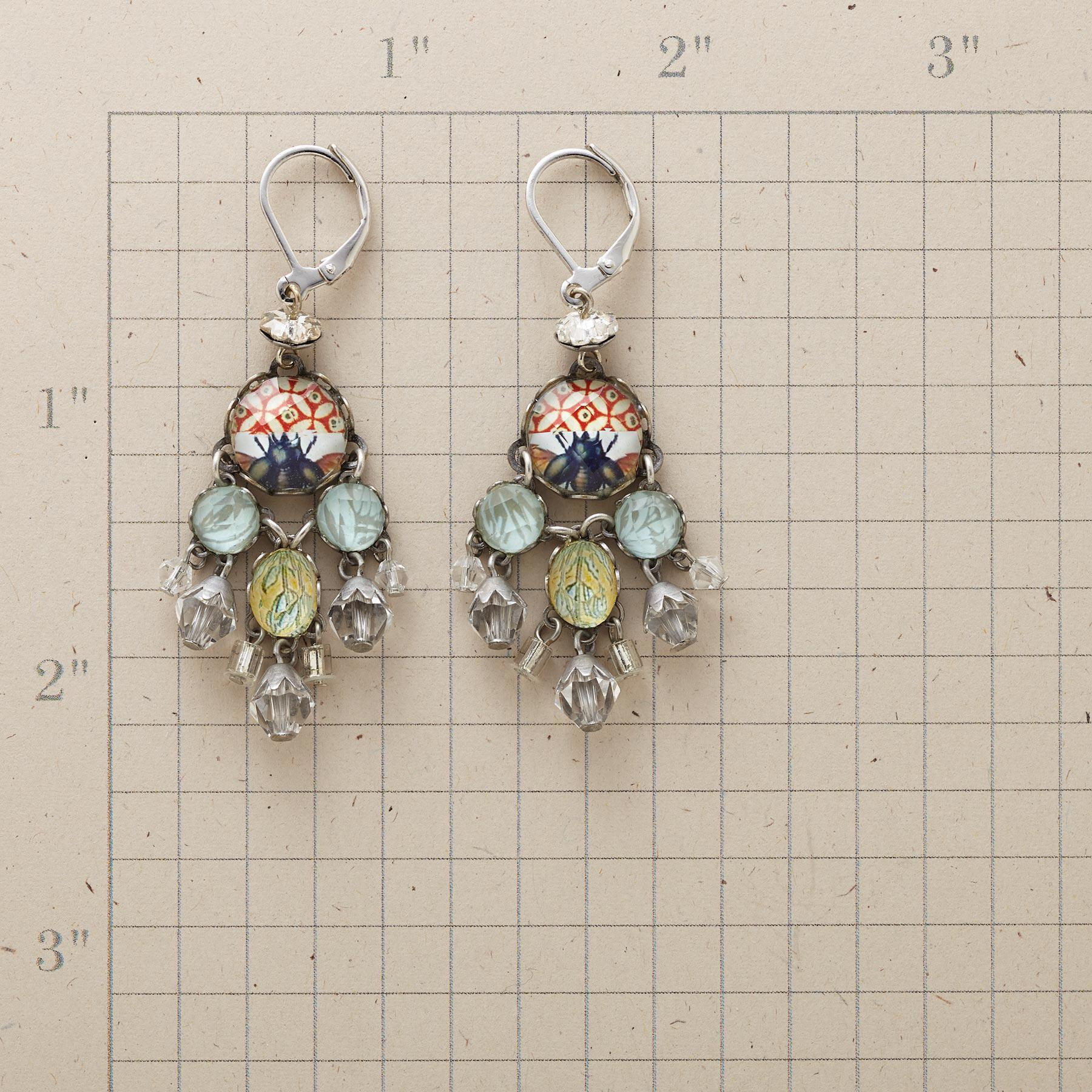 CRYSTAL PALACE EARRINGS: View 2