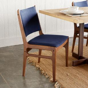 MILO CANVAS SIDE CHAIR