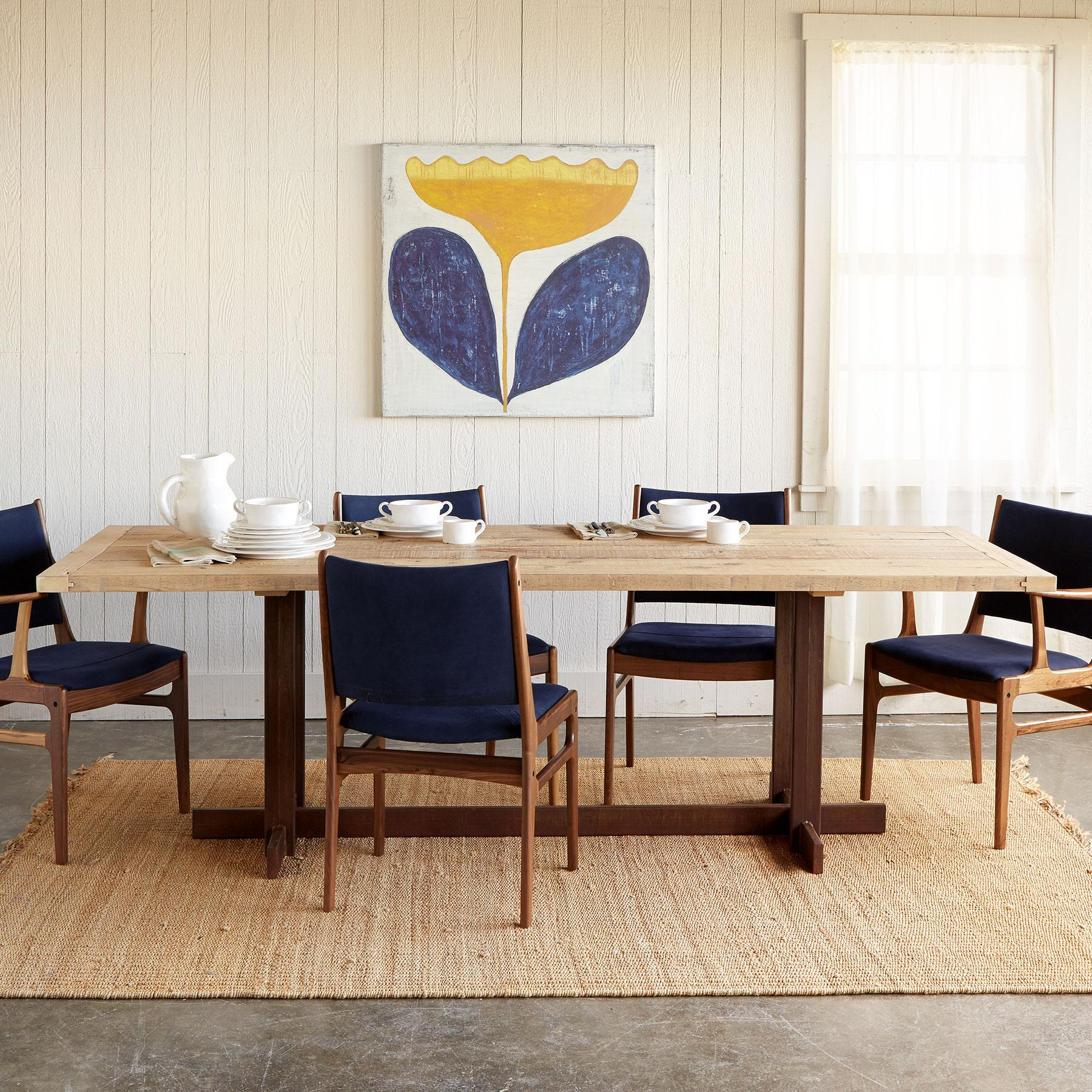 GREAT PLAINS TRESTLE DINING TABLE: View 1