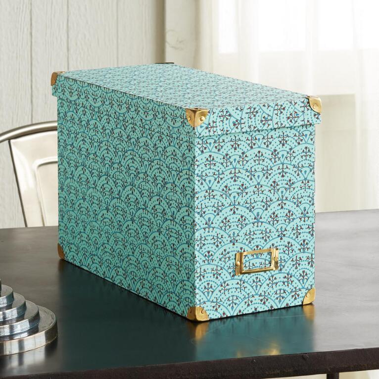 PRINTED FILE BOX
