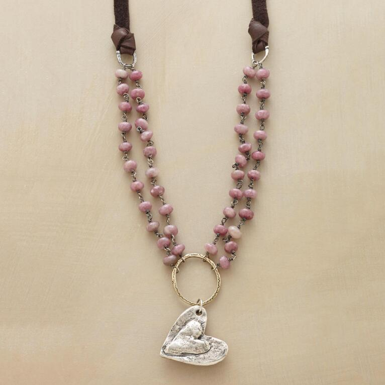 LOVE COMES AROUND NECKLACE
