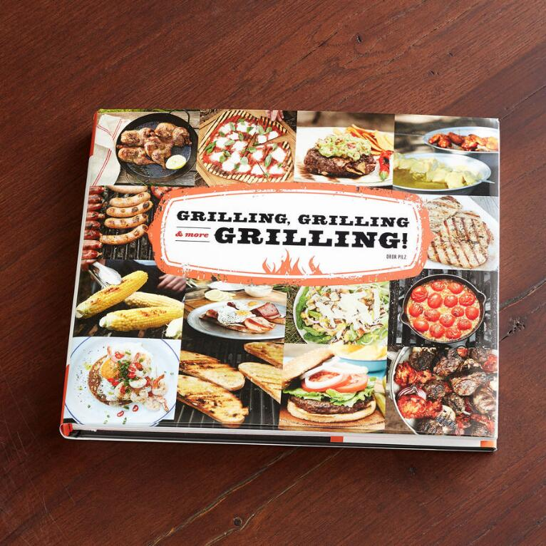 """""""GRILLING, GRILLING & MORE GRILLING"""" BOOK"""