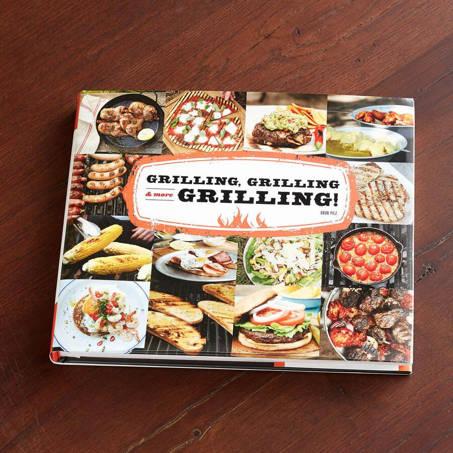 """GRILLING, GRILLING & MORE GRILLING"" BOOK"