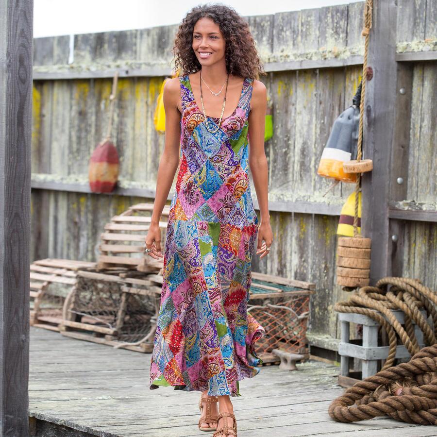 Kaleidoscope Patchwork Dress