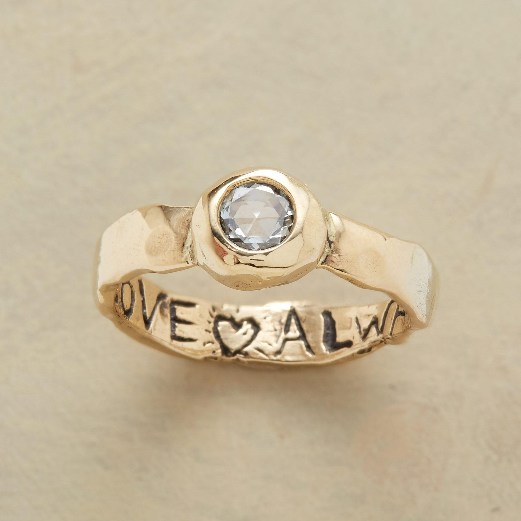 LOVE ALWAYS DIAMOND RING: View 1
