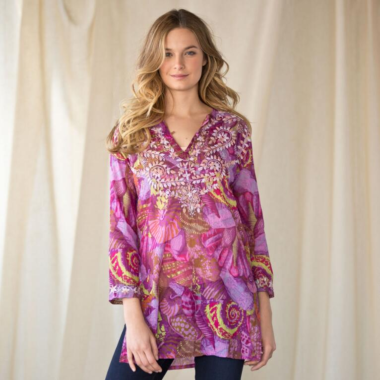 RAJ SEASHELL TUNIC