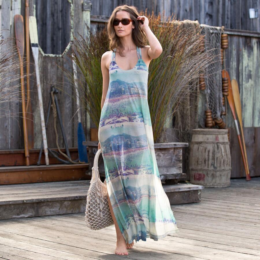 Rio Beachscape Maxi Dress