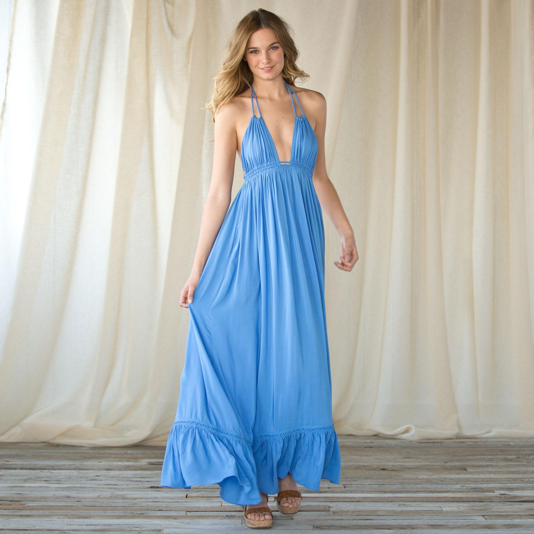Curacao Maxi Dress: View 1