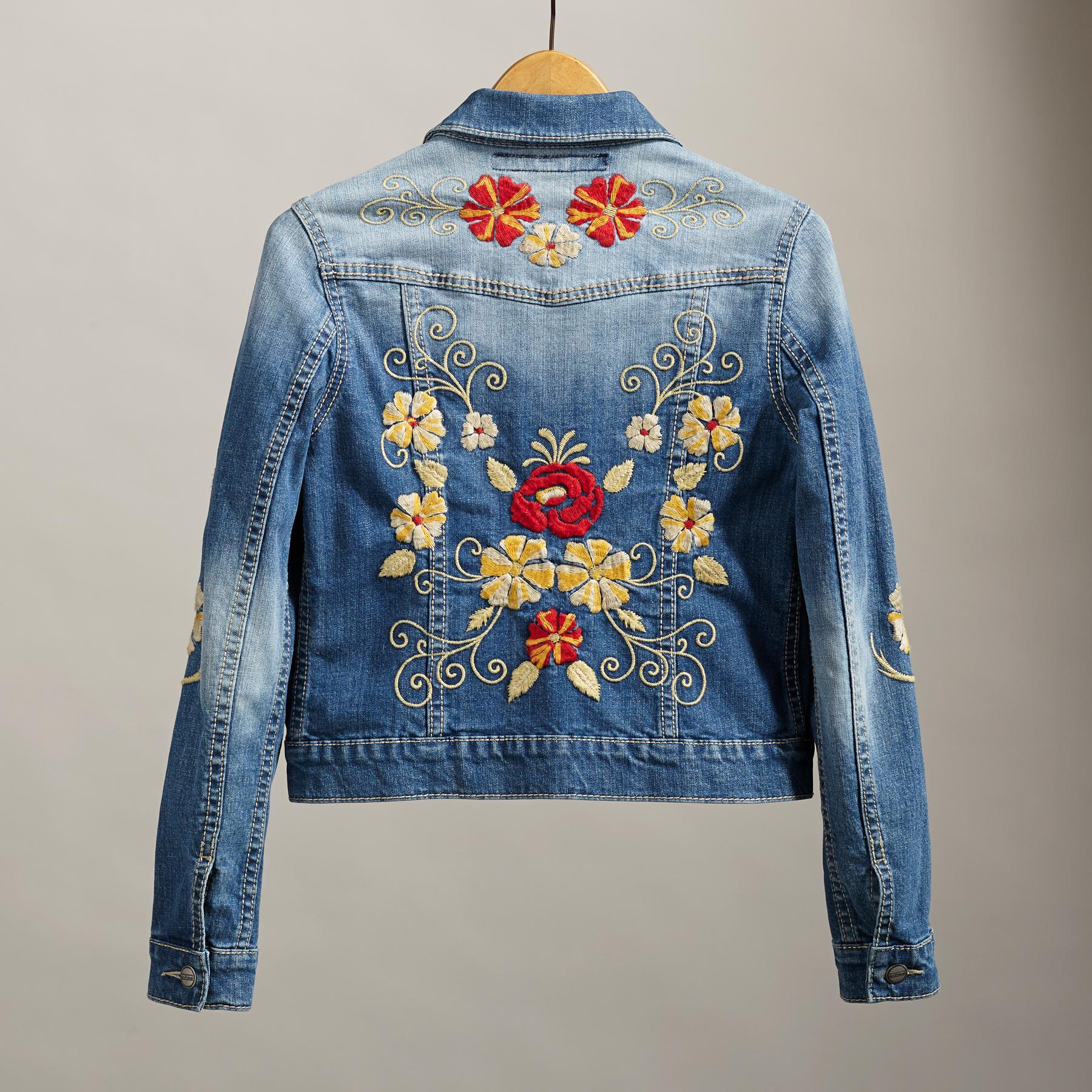 BLOSSOMS & BLUES JACKET: View 2