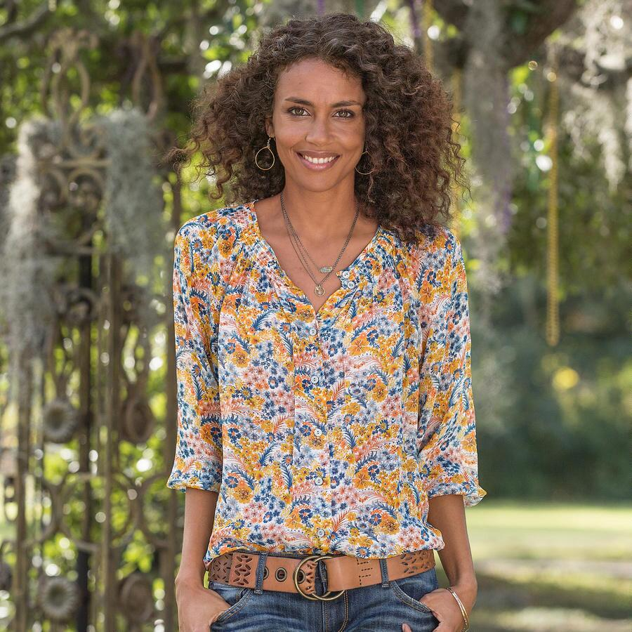 Avian Paradise Blouse