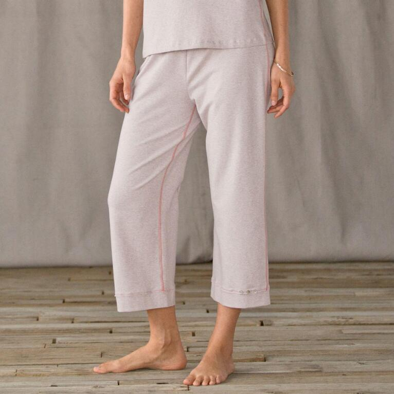 SLEEP TIGHT CROPPED PJ PANTS