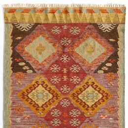 DIAMONDS IN THE ROUGH DHURRIE RUG
