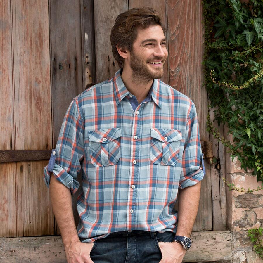 TRUE BLUE FLANNEL FRIEND SHIRT