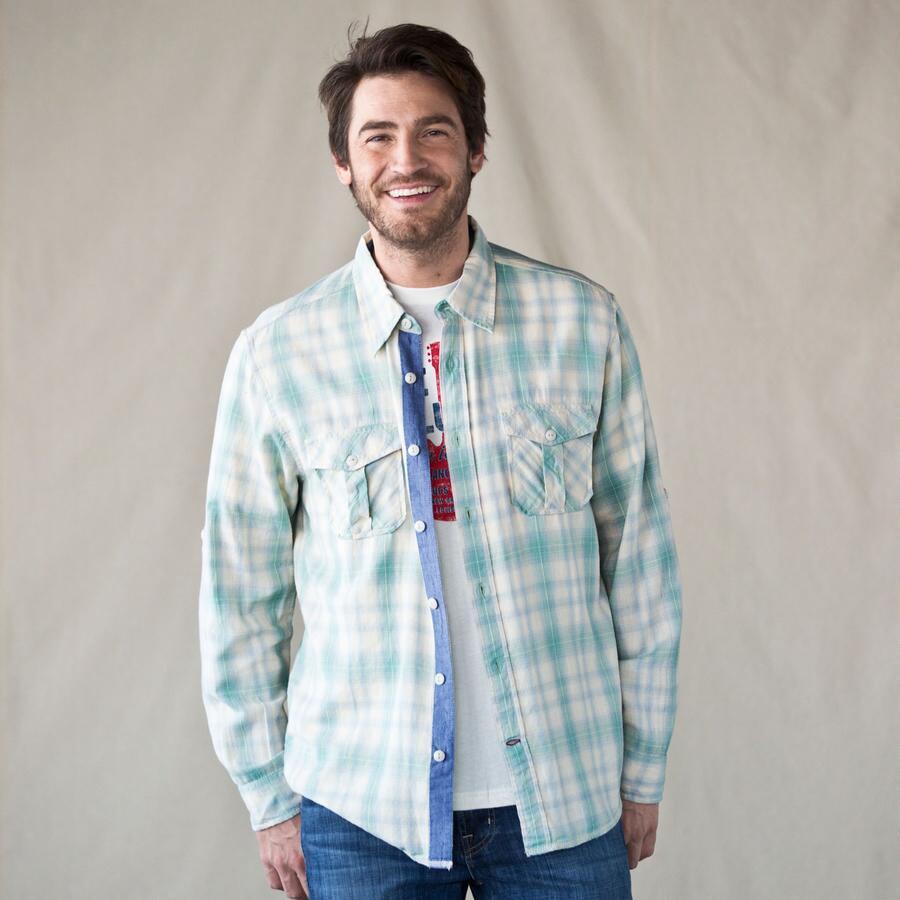 Desert Sage Flannel Shirt