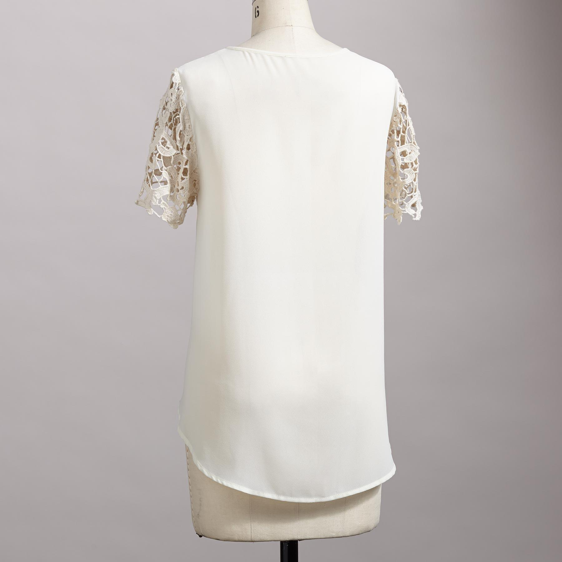 Filigree Lace Top: View 2