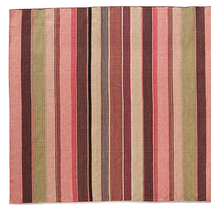 SEASIDE STRIPE DHURRIE RUG, LARGE