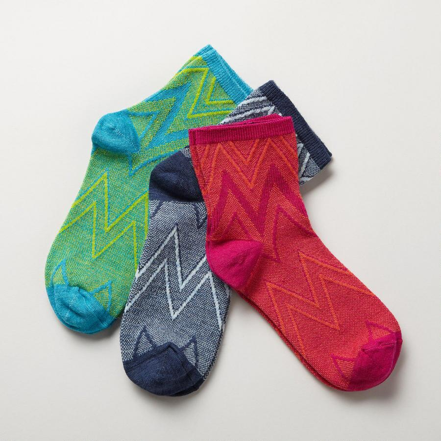 MODERN CRAFT SOCKS, SET OF 3