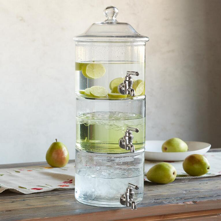 TRIPLE PLAY DRINK DISPENSER