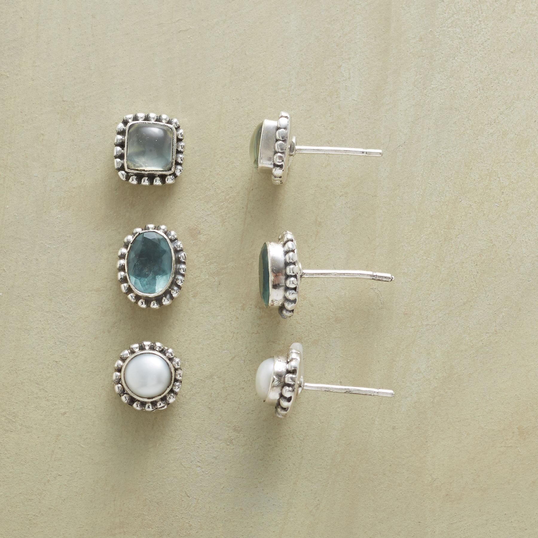 TREASURED EARRING TRIO: View 1