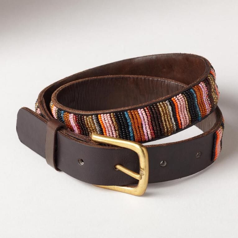 ALIYA BEADED BELT
