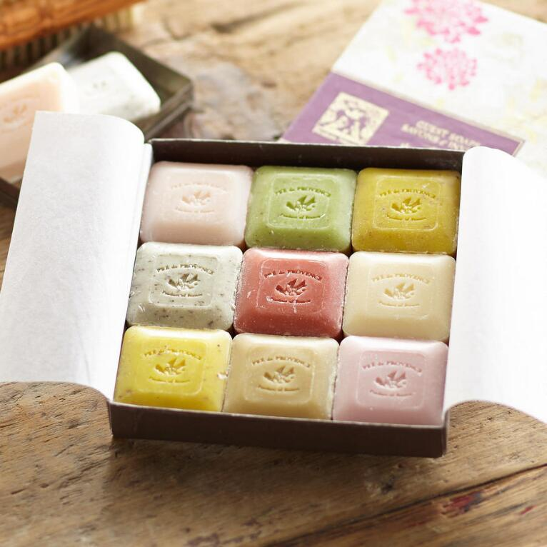 CLOUD NINE GUEST SOAPS, SET OF 9