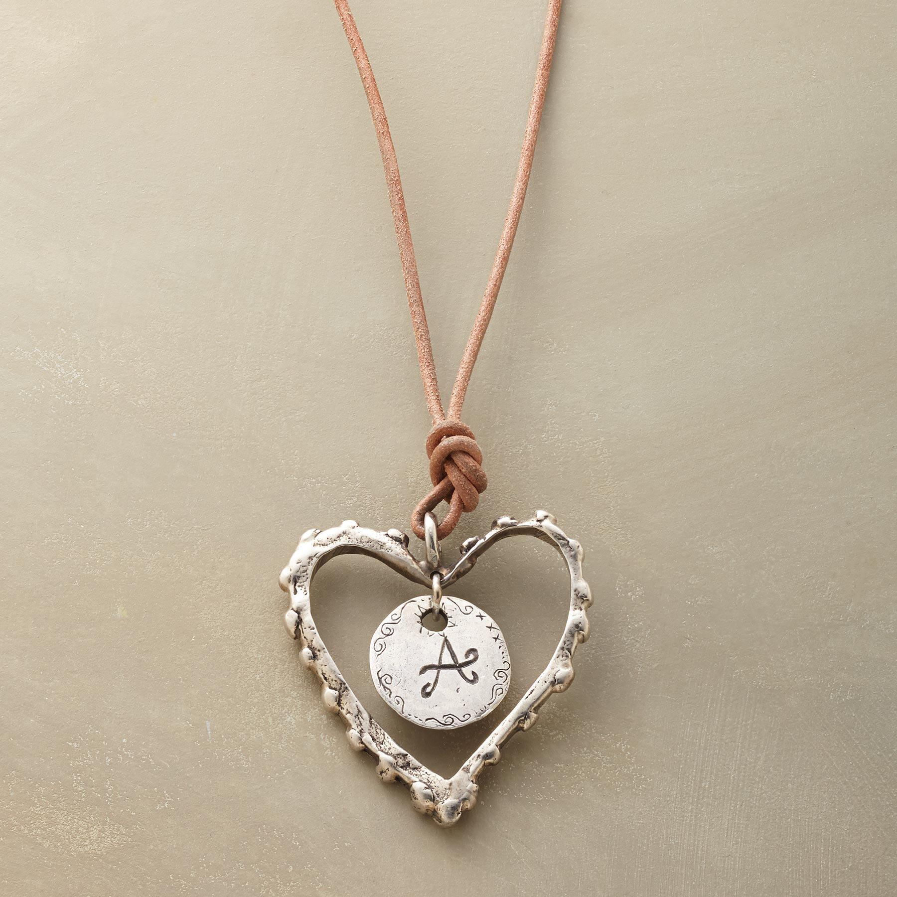 PERSONALIZED LOVE NOTE NECKLACE: View 1