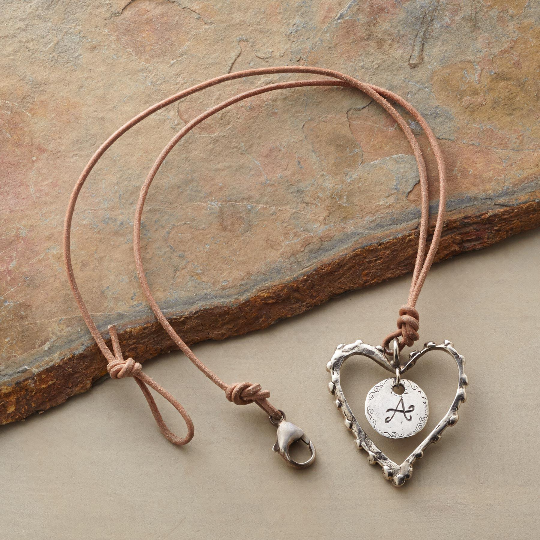 PERSONALIZED LOVE NOTE NECKLACE: View 2