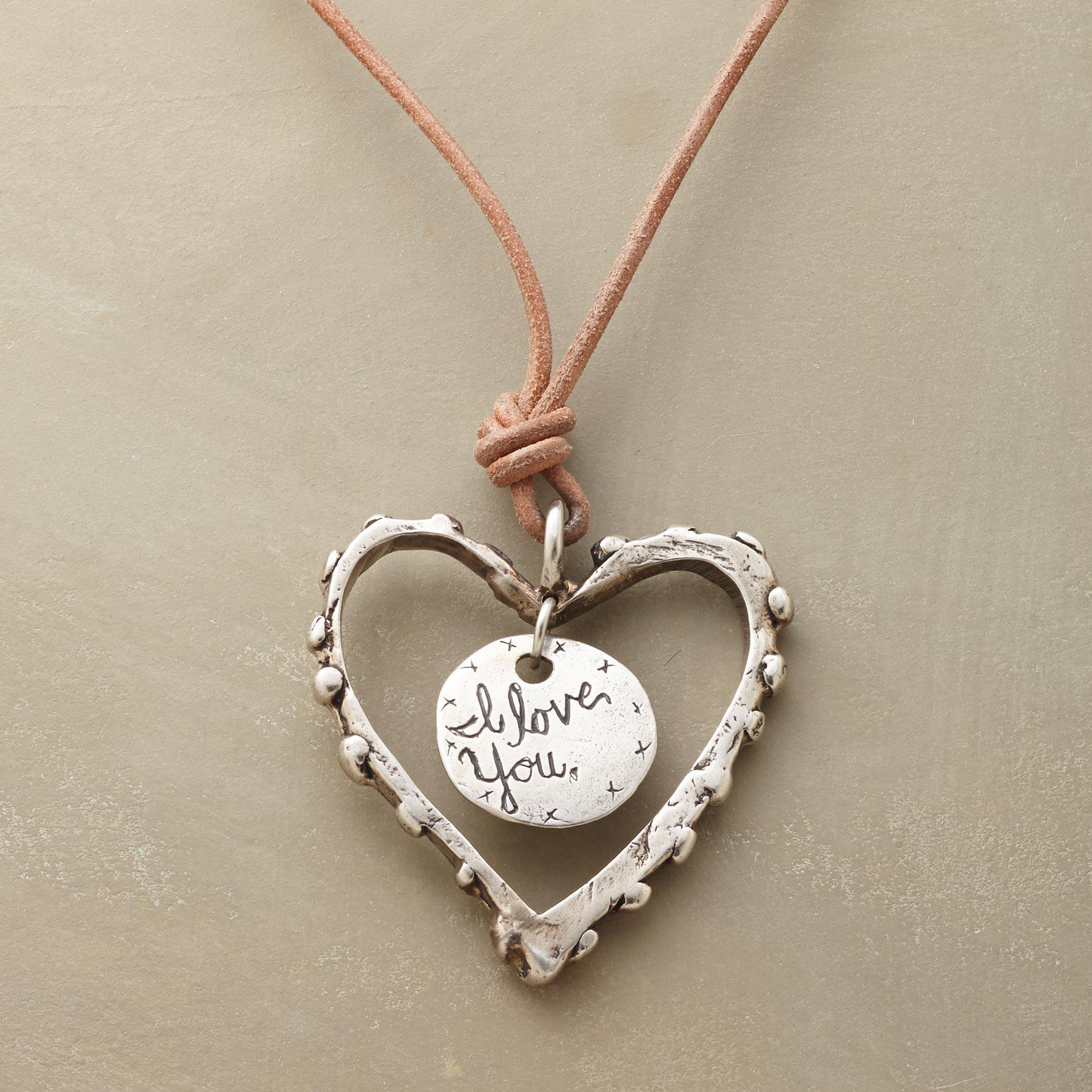 PERSONALIZED LOVE NOTE NECKLACE: View 3