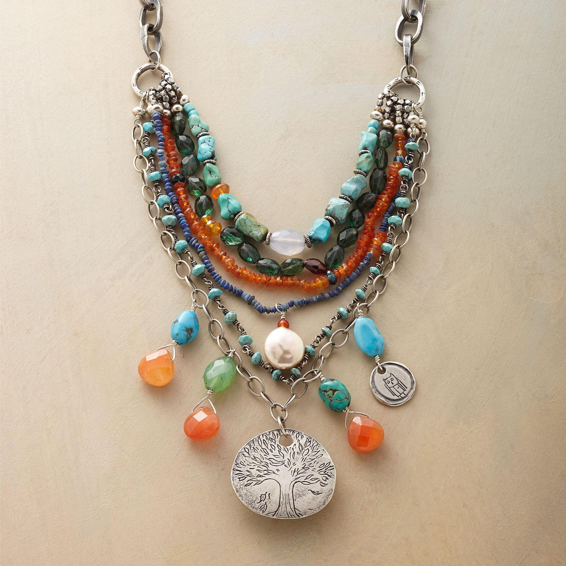 FESTIVAL OF LIFE NECKLACE: View 1