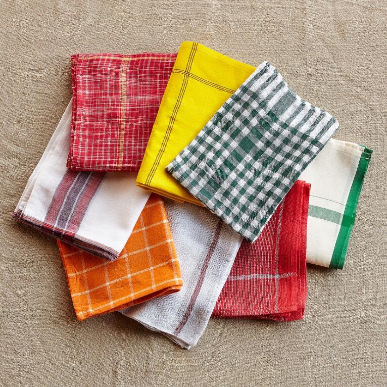 FARMHOUSE MIX DISH TOWELS, SET OF 8