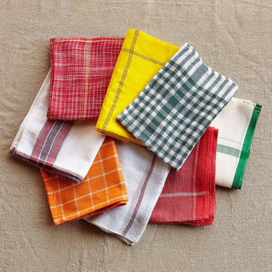 FARMHOUSE MIX DISH TOWELS, SET OF 8