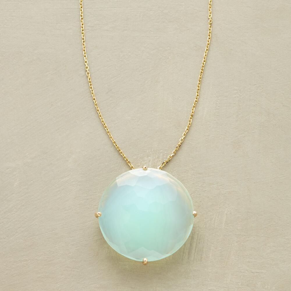 Floating chalcedony necklace robert redfords sundance catalog aloadofball Images