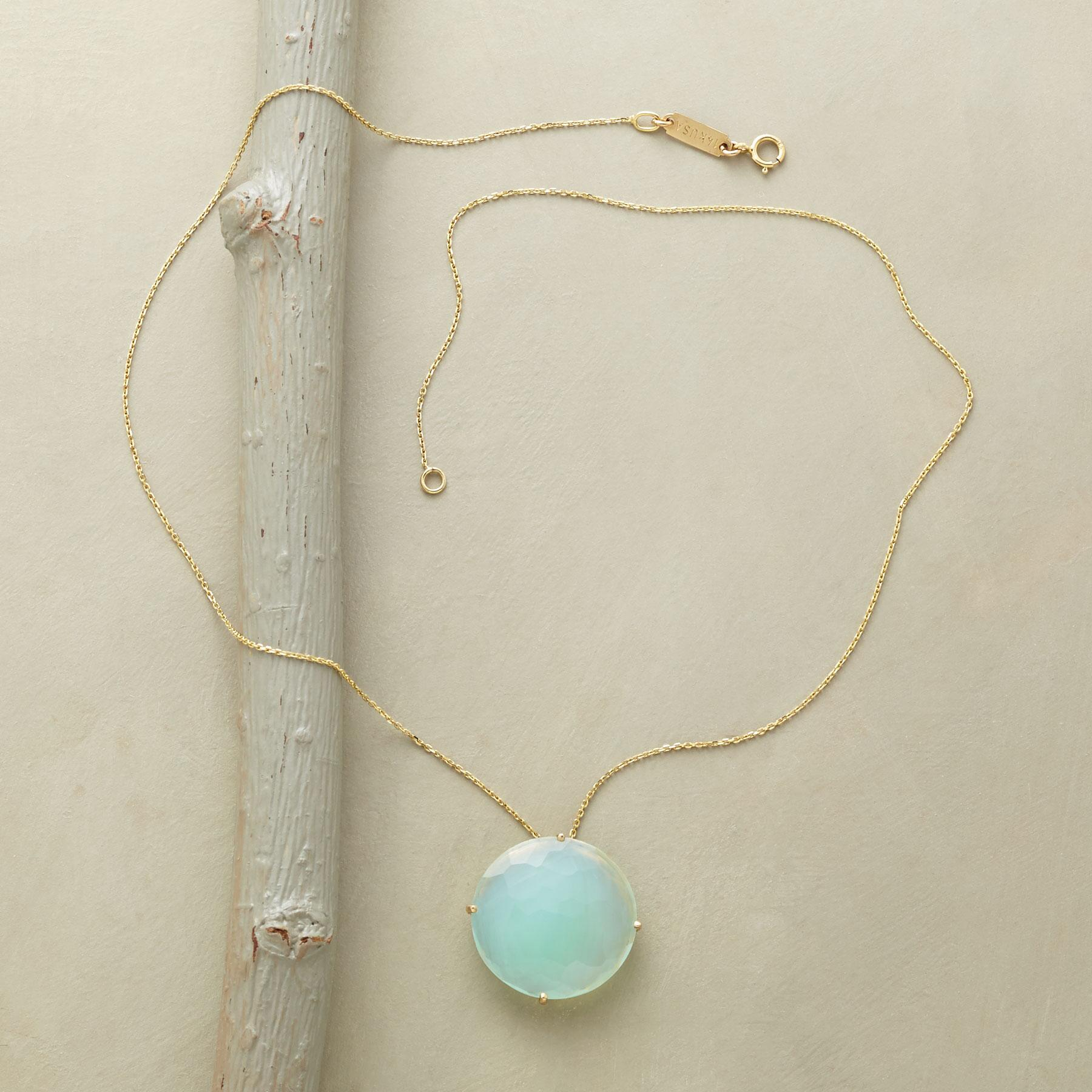 FLOATING CHALCEDONY NECKLACE: View 2