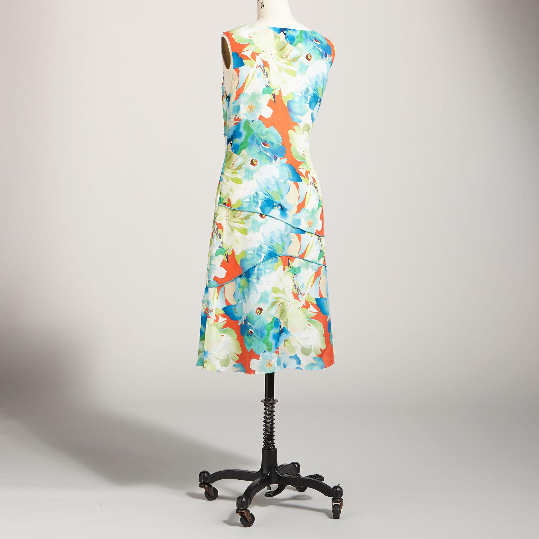 TROPICAL CURRENTS DRESS: View 2