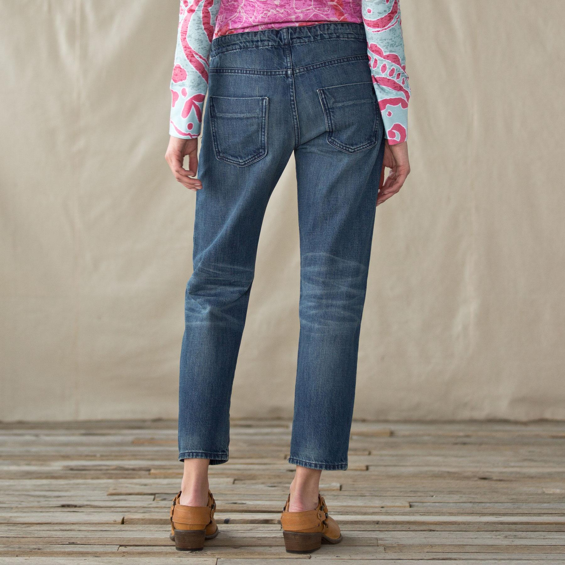 Easy Roller Cropped Jeans: View 2