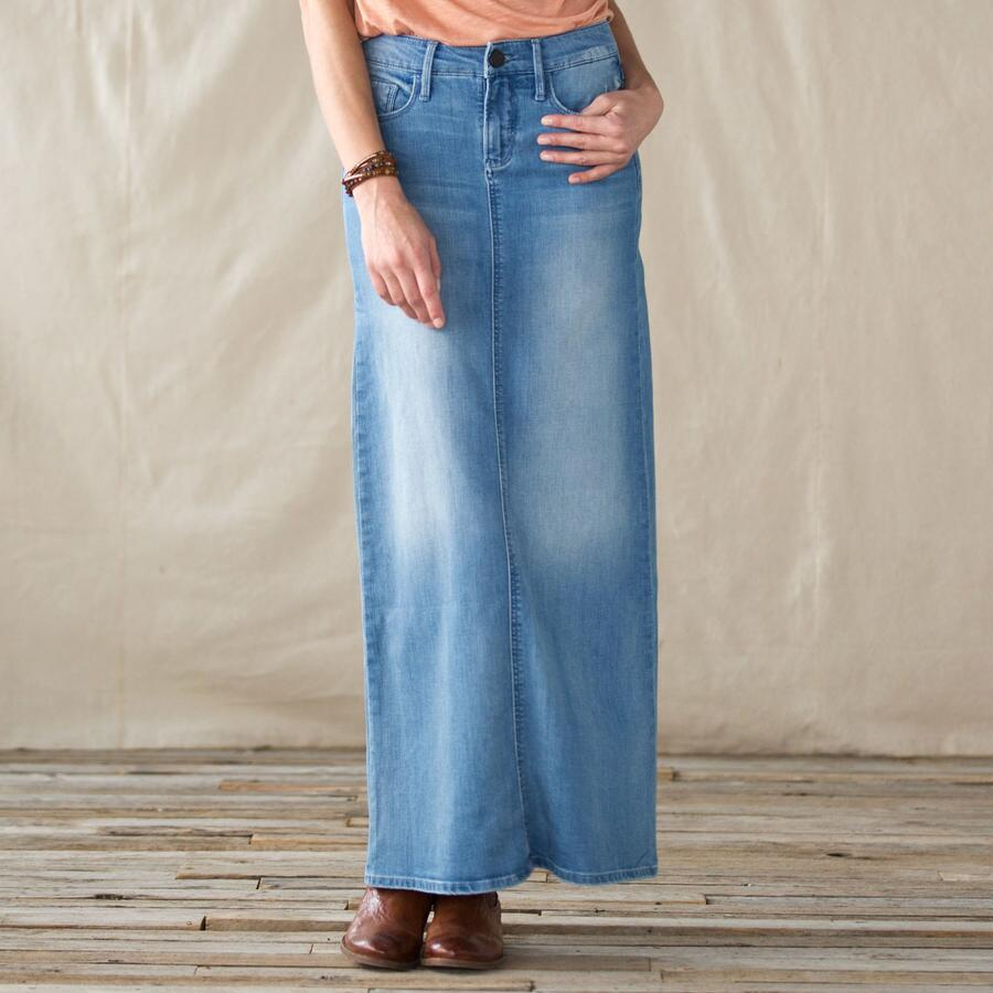 URBAN RENEWAL JEAN SKIRT