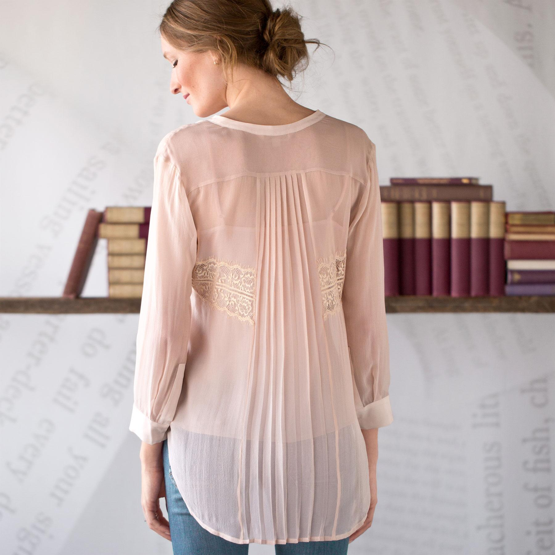 Peach Sorbet Tunic: View 2