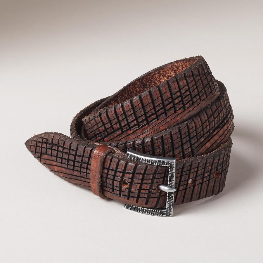 Codice Leather Belt