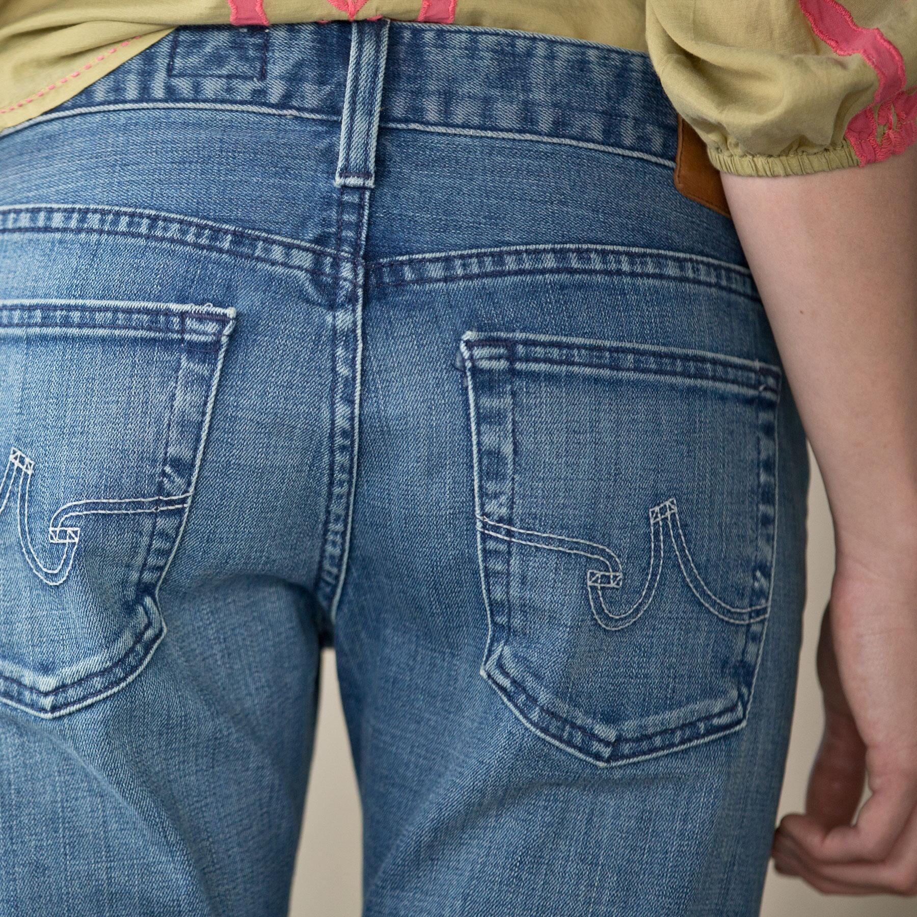 PIPER CROPPED JEANS: View 3