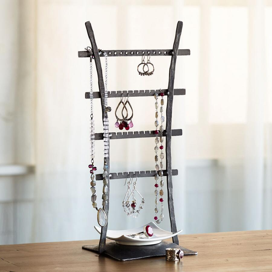 LADDER JEWELRY STAND